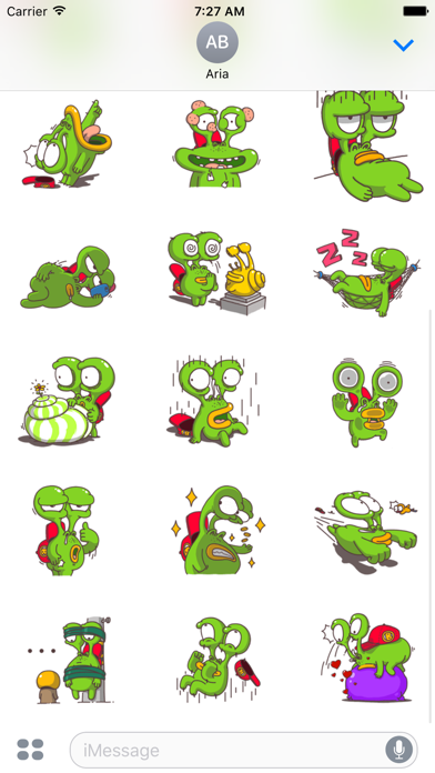 Weird Snail - Funny Sticker screenshot 3