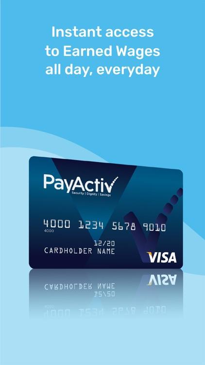 PayActiv - Earned Wage Access screenshot-3