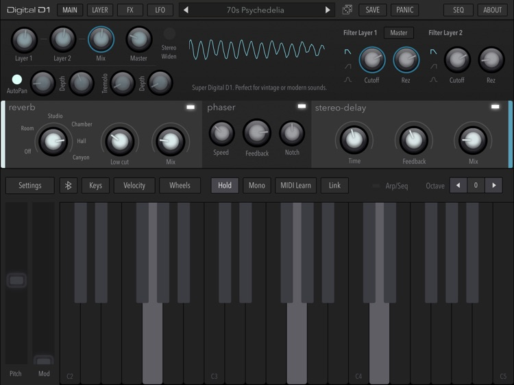 AudioKit Digital D1 Synth