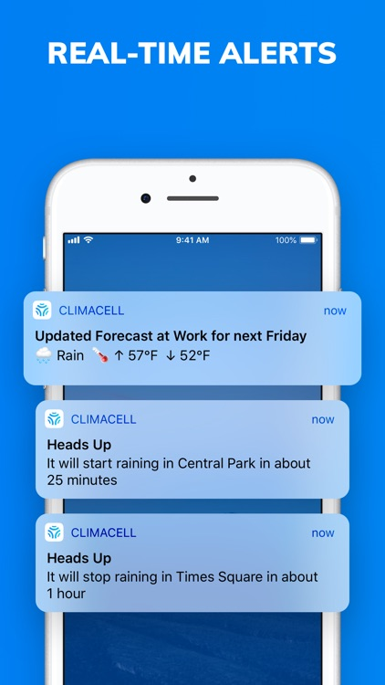 Climacell: Weather Assistant