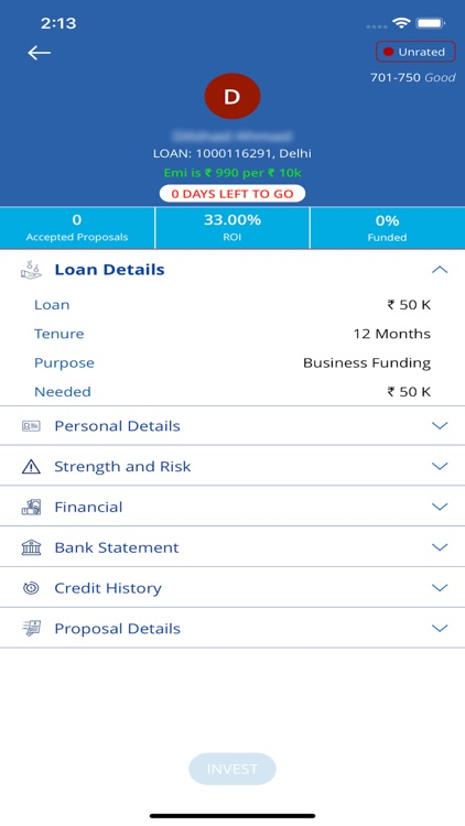 Faircent - P2P Investment screenshot-3