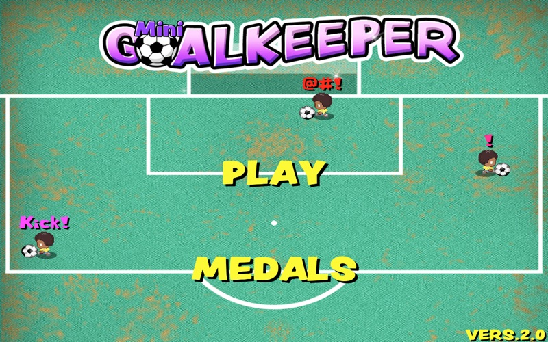 Mini Goalkeeper screenshot 1