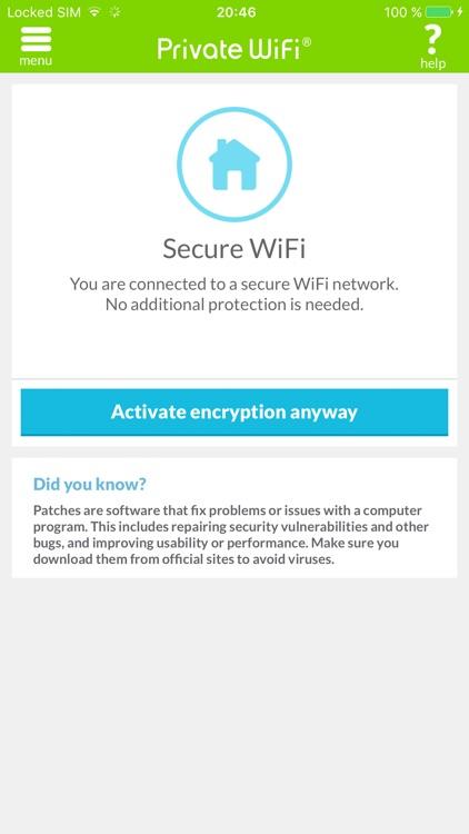 Private WiFi™ Mobile for AOL