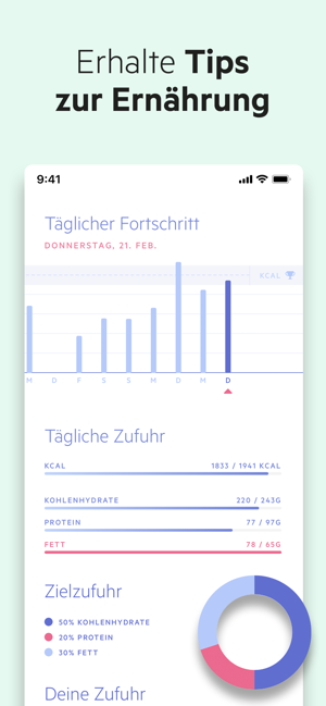 ‎Lifesum: Diät Planer & Tracker Screenshot