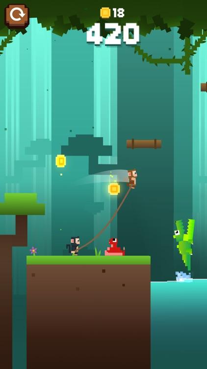 Monkey Ropes screenshot-0