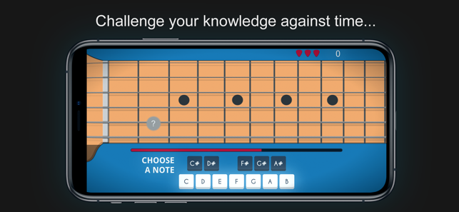 ‎Guitario: Guitar Notes Trainer Screenshot