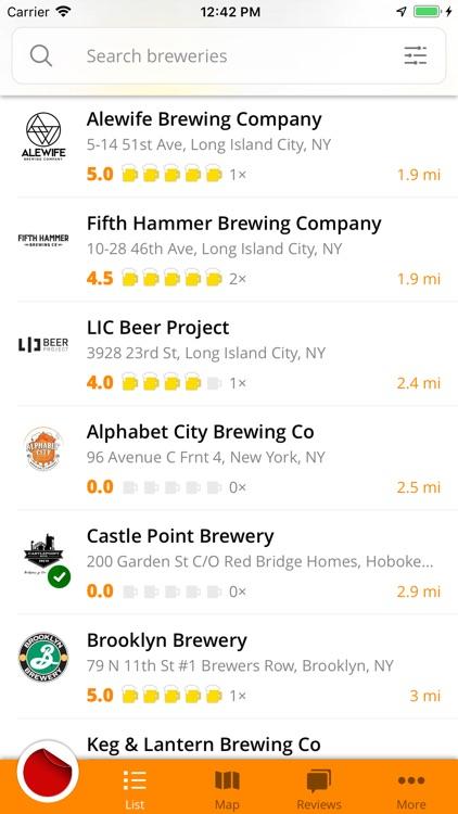 Brewee - breweries navigator