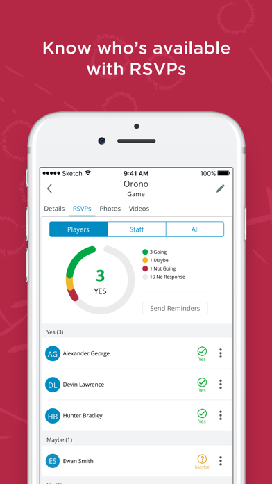 Screenshot for SportsEngine in Canada App Store