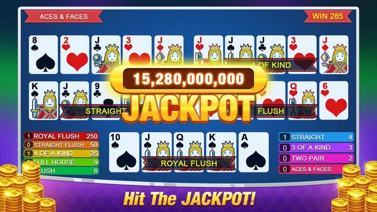 Multi Casino Video Poker Games screenshot-3