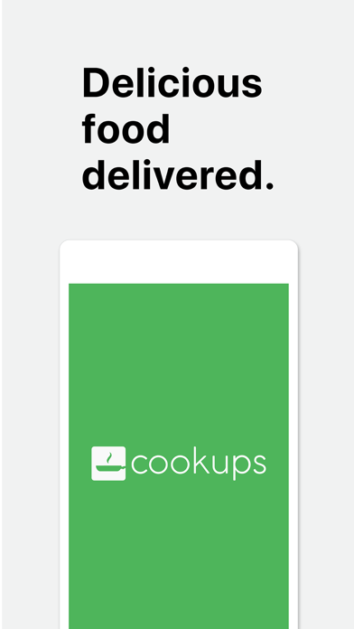 Cookups screenshot one
