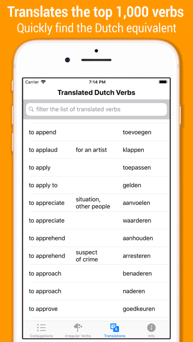 点击获取Dutch Verb Conjugations