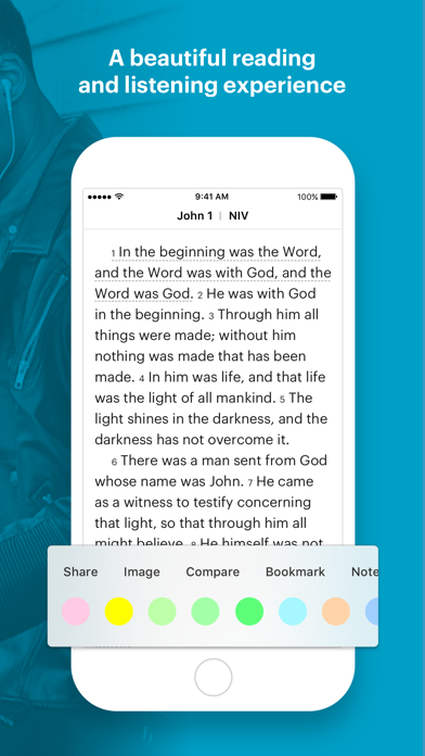 Screenshot for Bible in South Africa App Store
