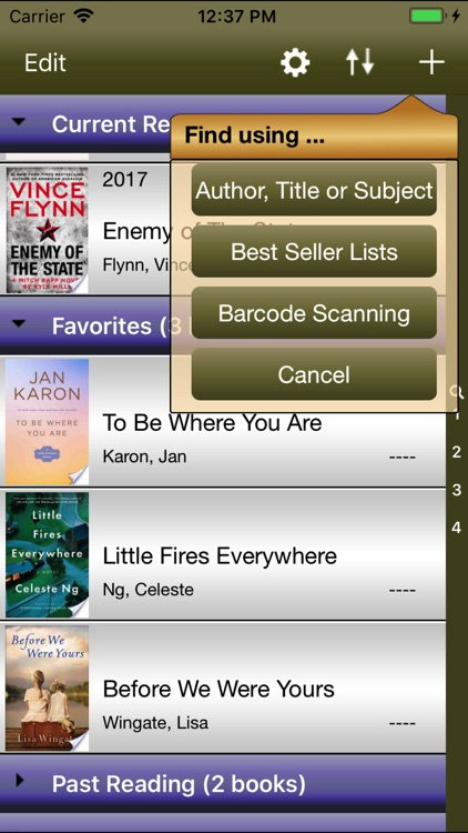 FrontCover - A Reading App screenshot-3