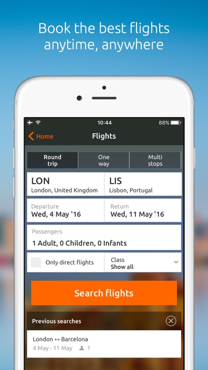 Opodo: Book cheap flights