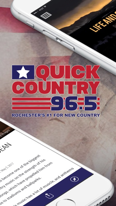 Quick Country 96.5 (KWWK) screenshot two
