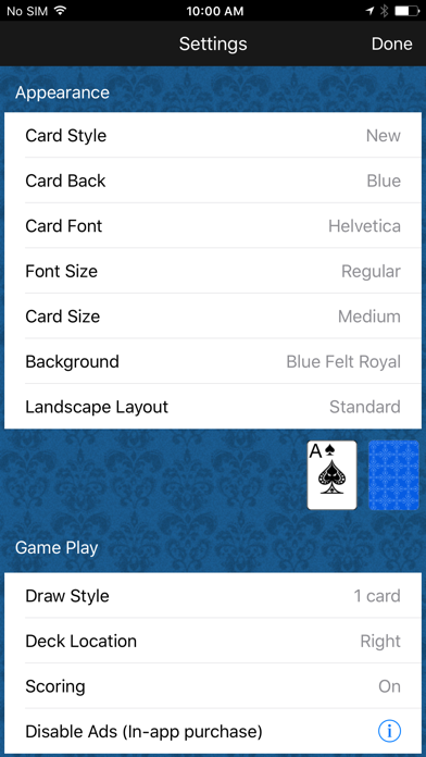 Solitaire Classic screenshot four