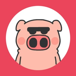 Pink Pig Stickers