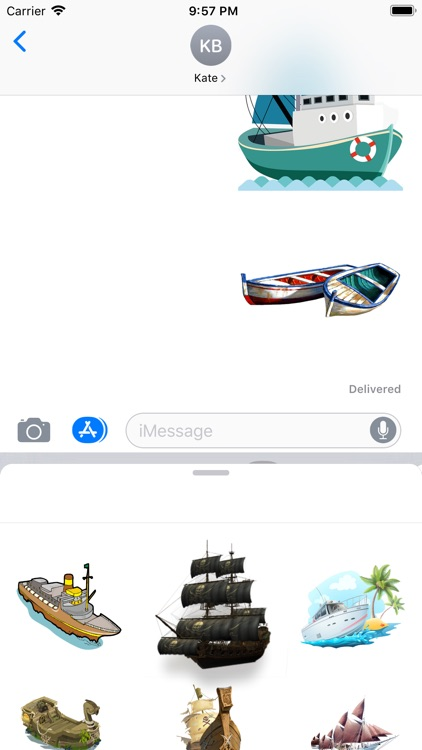 Sailboats Collection Stickers screenshot-3