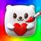 App Icon for Squishy Magic: 3D Art App in Romania App Store