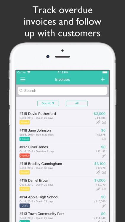 JotNot Invoice screenshot-3