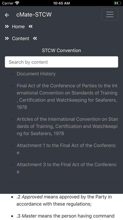 cMate-STCW screenshot-4