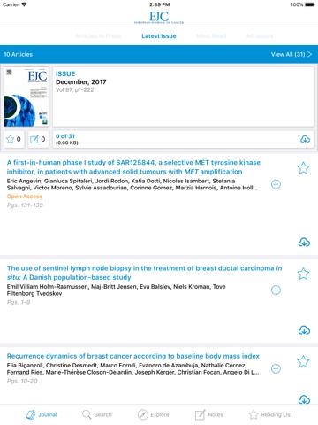 European Journal of Cancer - náhled
