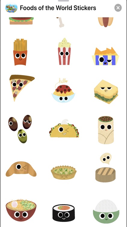 Foods of the World Stickers screenshot-5