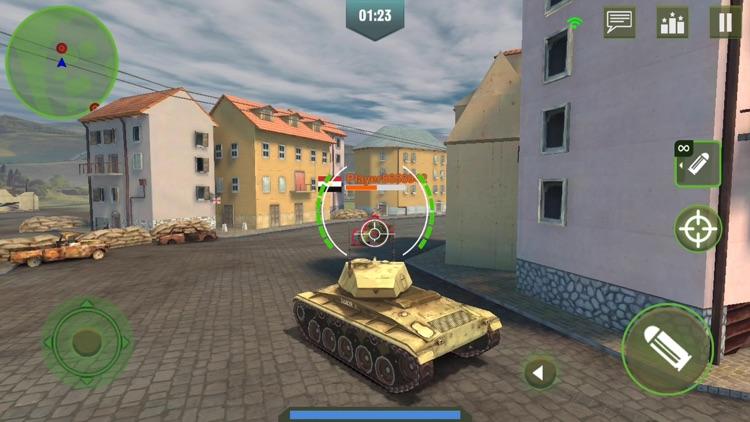 War Machines: 3D Tank Games screenshot-7