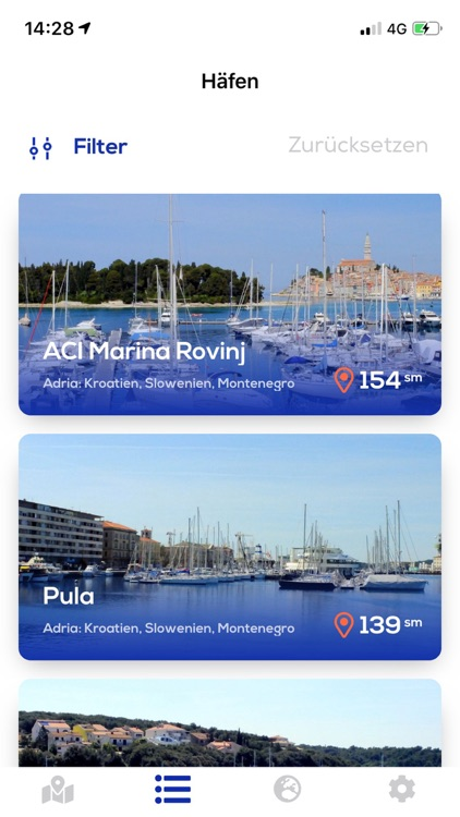 Marina Guide Croatia Adriatic screenshot-1