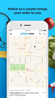 Amazon Prime Now iphone images