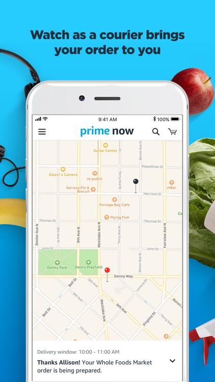 Amazon Prime Now screenshot-3