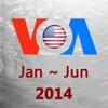 VOA英语听力新闻高清语音版2014合集(上)HD