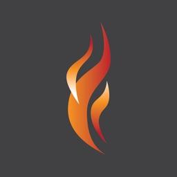 Modern Flames Sunset Series