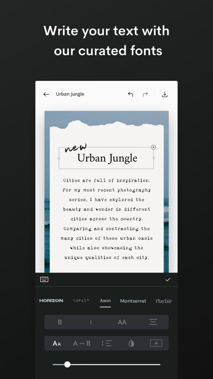 Unfold — Create Stories screenshot-5