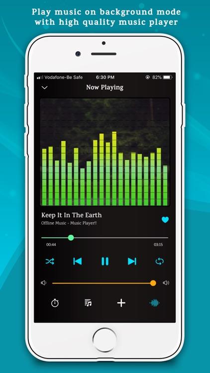 Offline Music Player Lite screenshot-7