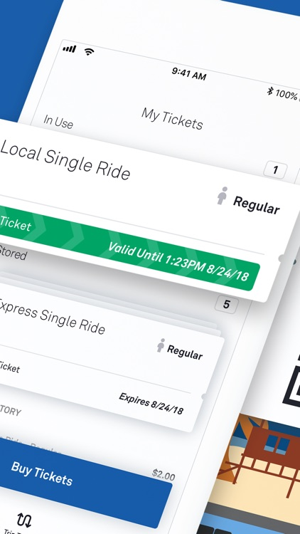 OC Bus Mobile Ticketing
