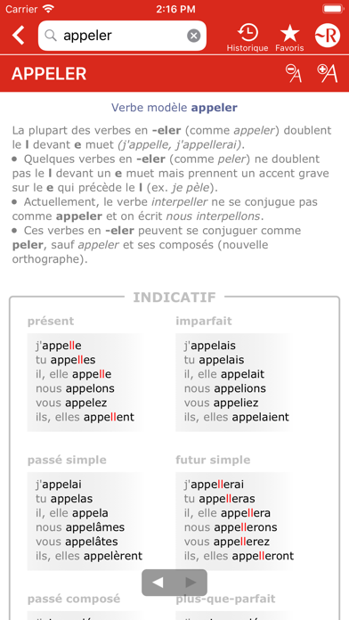 Dictionnaire Le Petit Robert Screenshot