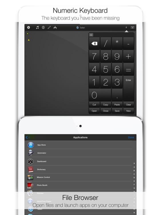 Mobile Mouse - iPad Edition screenshot-4