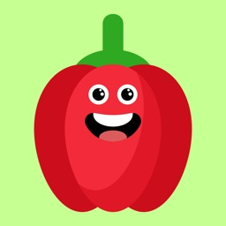 red fruits emoji sticker app
