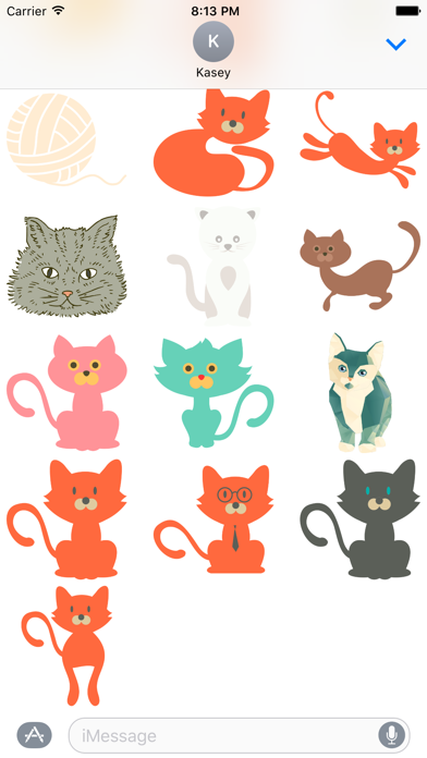 Cat Sticker Pack screenshot two