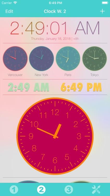 Clock Widget screenshot-4