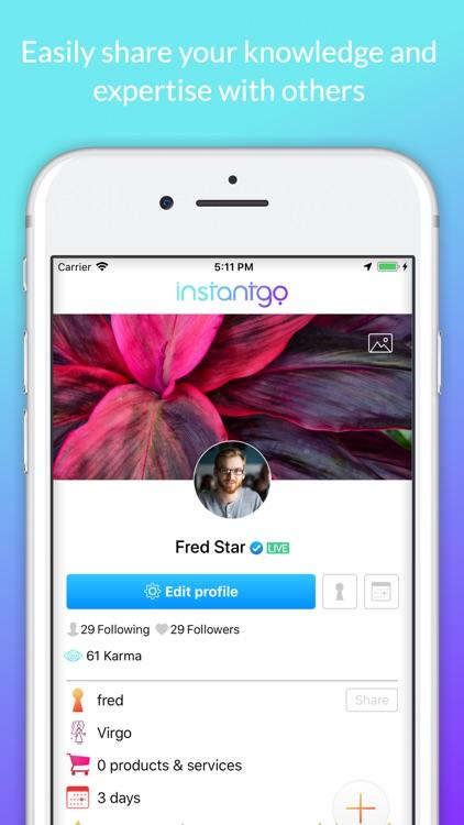 Instantgo screenshot-5