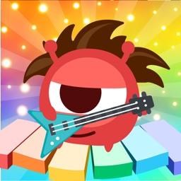 CandyBots Piano Kids Music Fun