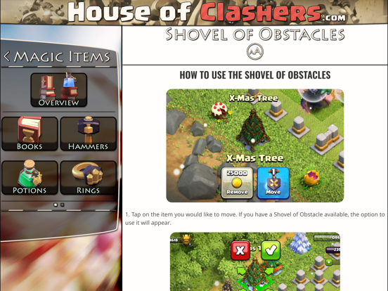 House of Clashers - Clash of Clans CoC Tips, Tactics, Strategies, Gems and Videos Free Guide screenshot