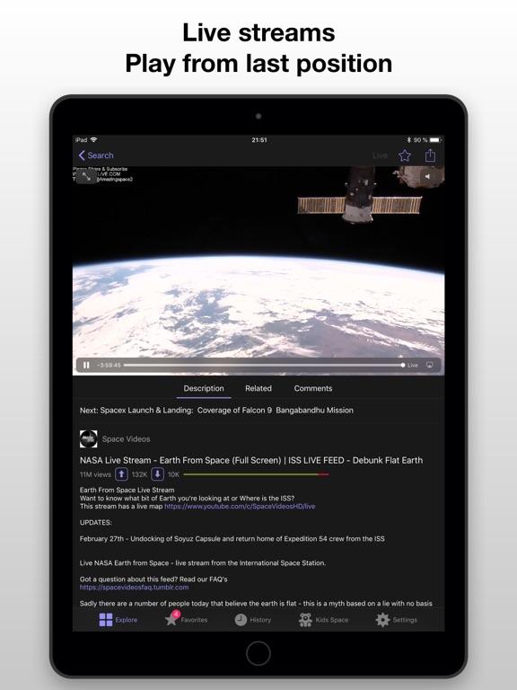Ivory - Video Player Screenshots