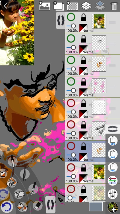 Oculigami for Painting screenshot-0