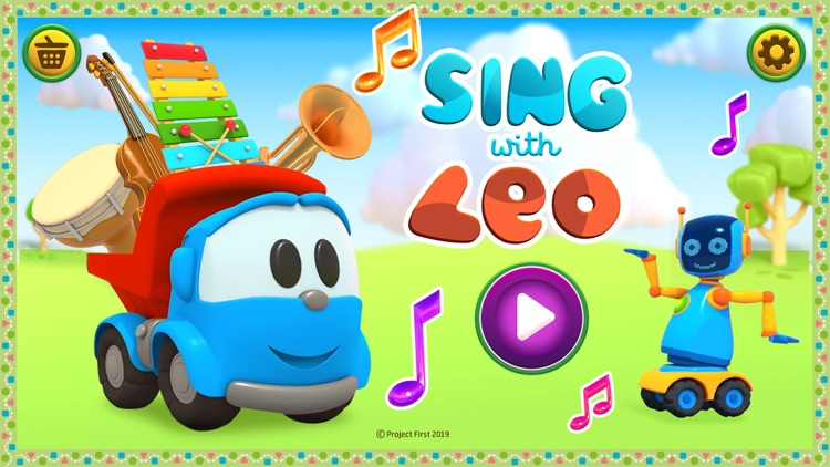 Leo the Truck Songs & Cartoons screenshot-0
