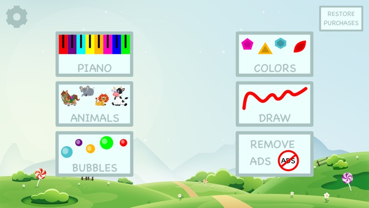 Learn colors by playing