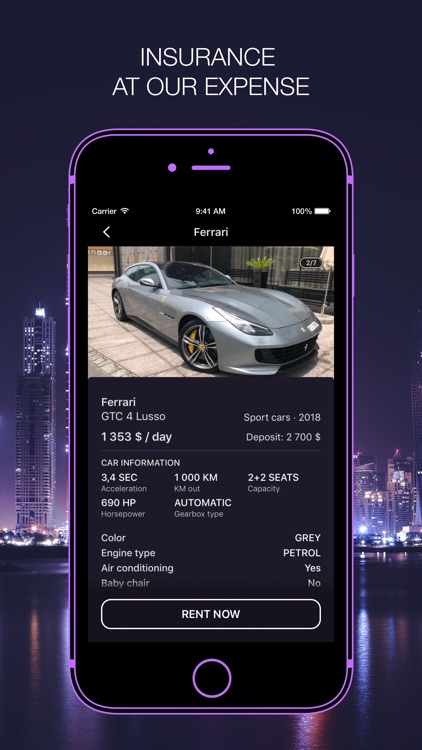DreamCars for rent screenshot-4