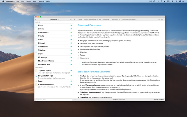 ‎Notebooks - Write and Organize Screenshot
